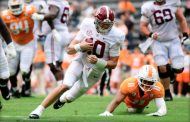 No. 2 Alabama loses Waddle for season, beats Tennessee 48-17