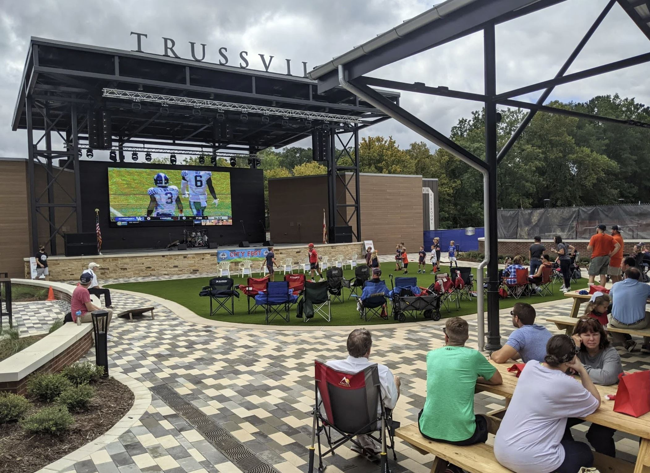 Trussville's new entertainment district featured in MediaMerge blog