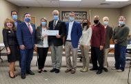 TCS presented with $805K check from Jefferson County