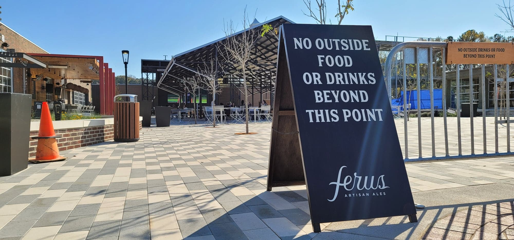 Ferus Artisan Ales booking events for Trussville's downtown pavilion and stage area