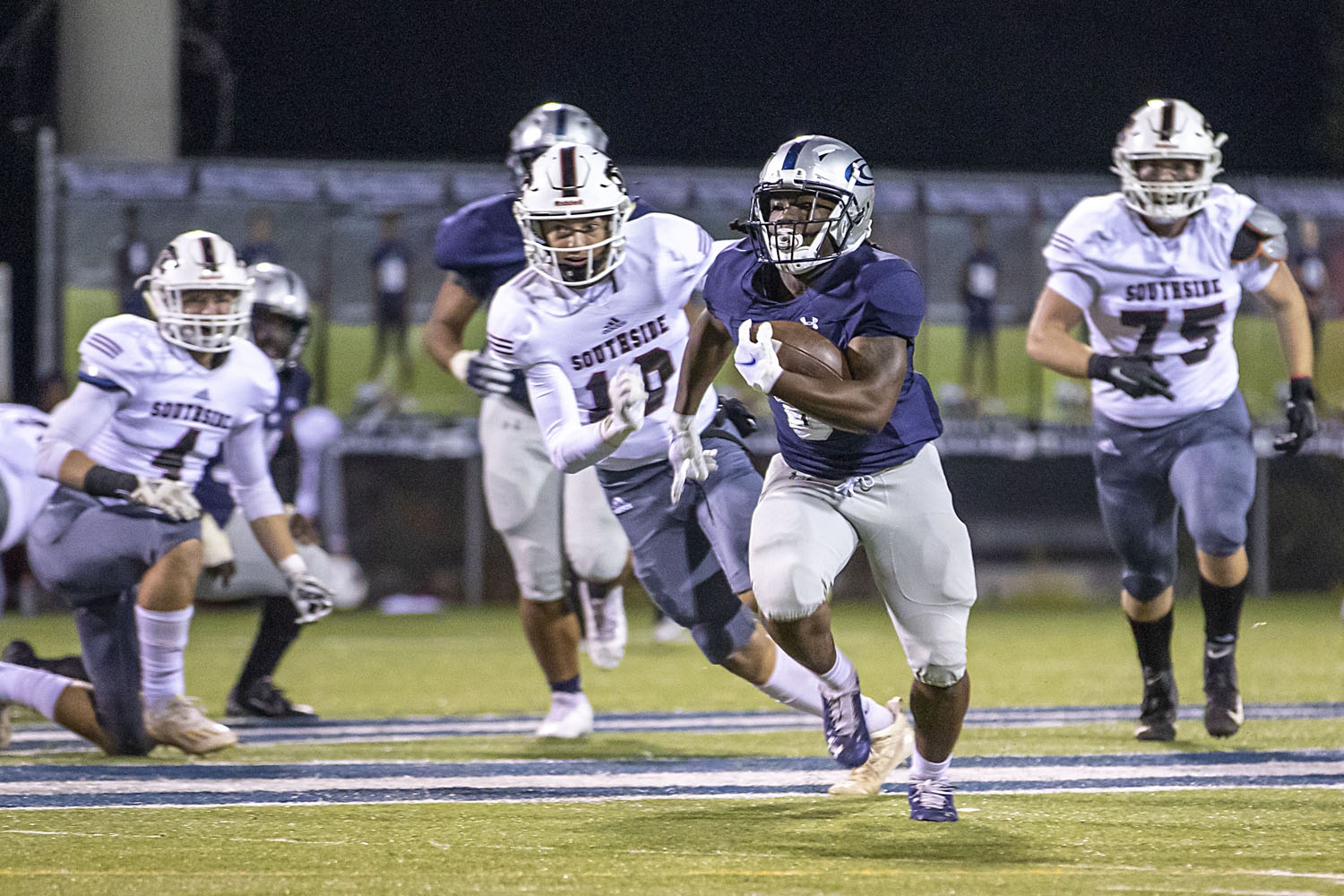 No. 6 Clay-Chalkville thumps Southside-Gadsden, 63-0