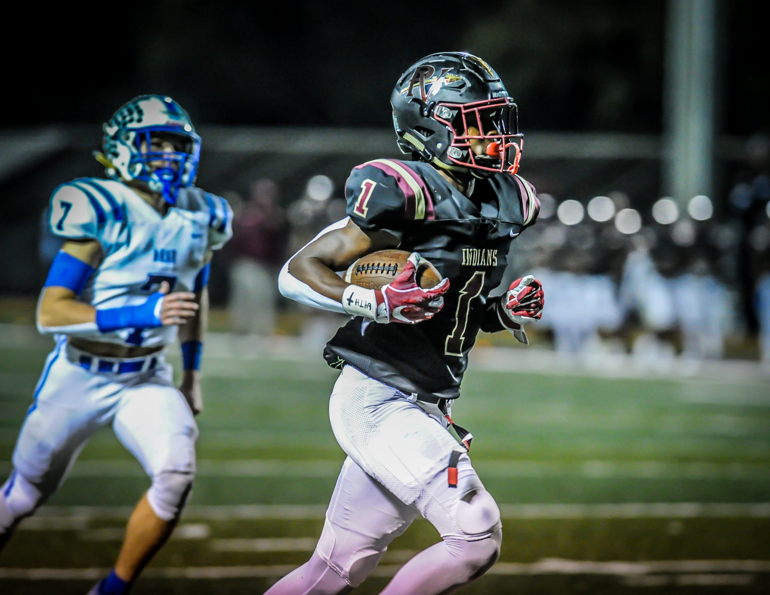 McKinstry-led Indians blow by Arab, 45-0