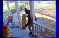 Caught on camera: Porch pirate snatching package from Trussville home