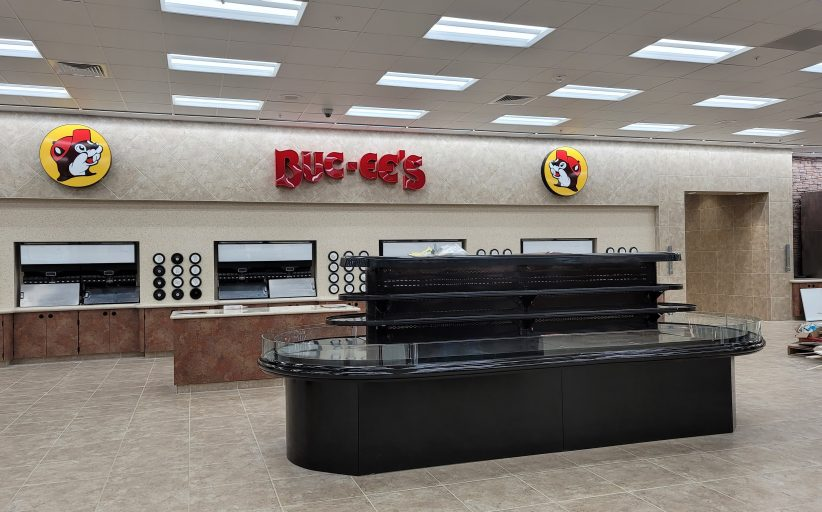 PHOTOS: Progress made on the inside and outside at new Buc-ee's location in Leeds