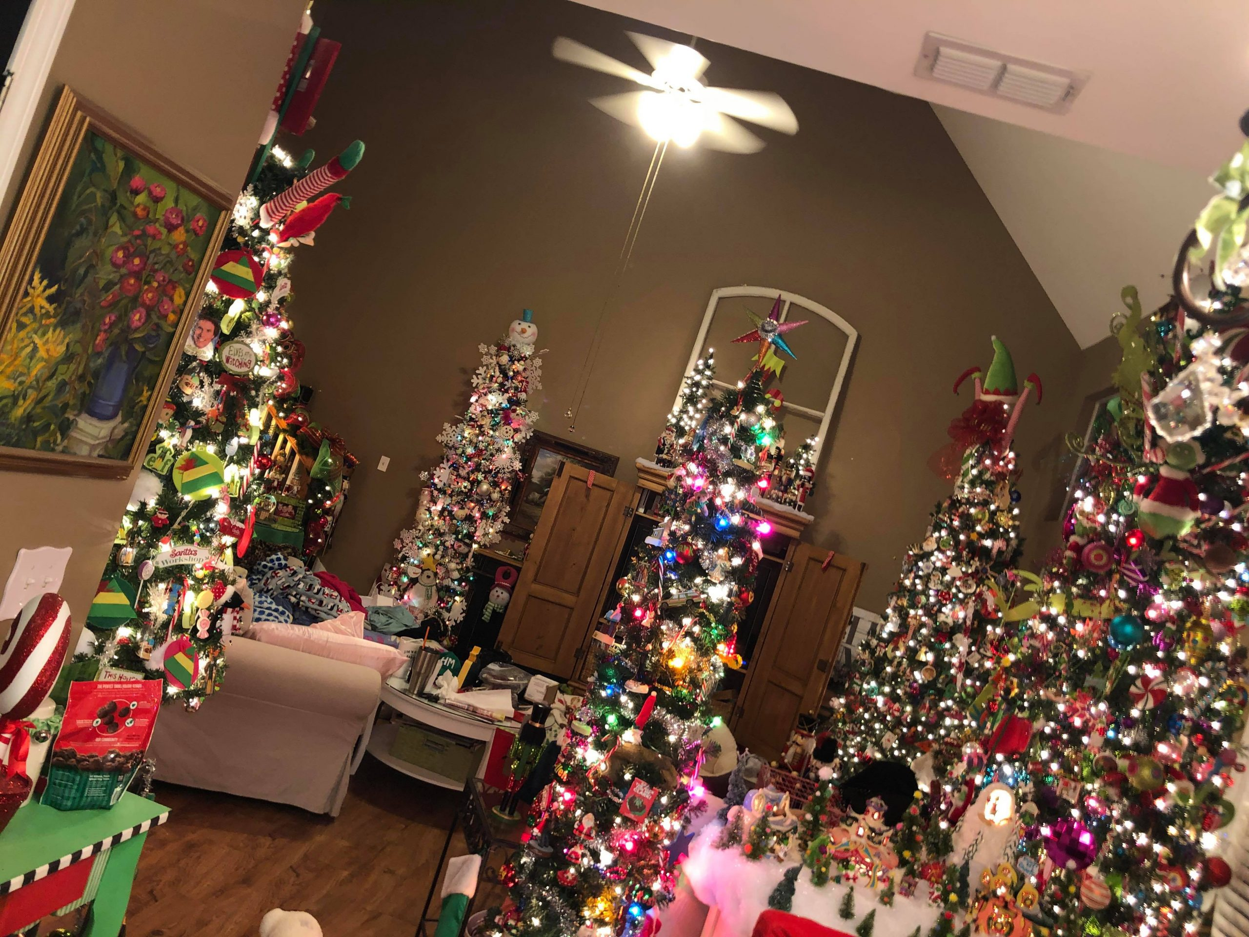 GALLERY: Trussville home has 32 Christmas trees inside