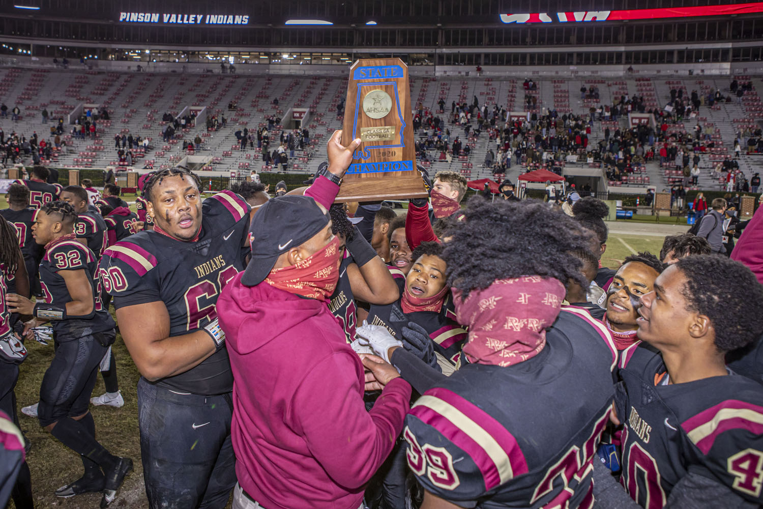 Pinson Valley captures 3rd state championship in 4 years