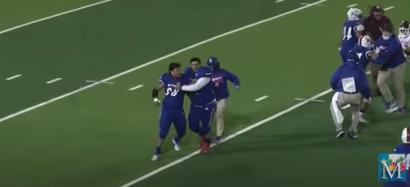 VIDEO: Texas high school football player facing assault charges after on-field incident