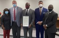 VIDEO: JefCoEd presents resolution to Pinson Valley football following championship win