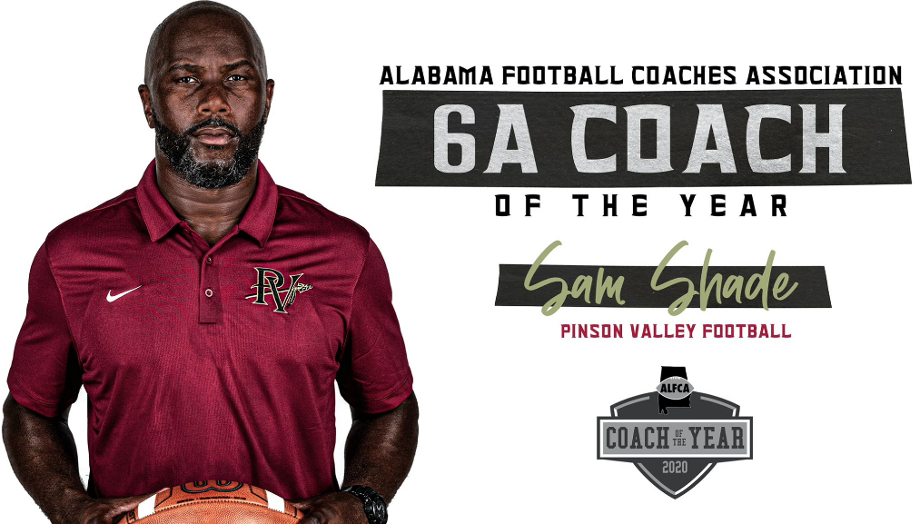 Shade named 6A Coach of the Year after championship run