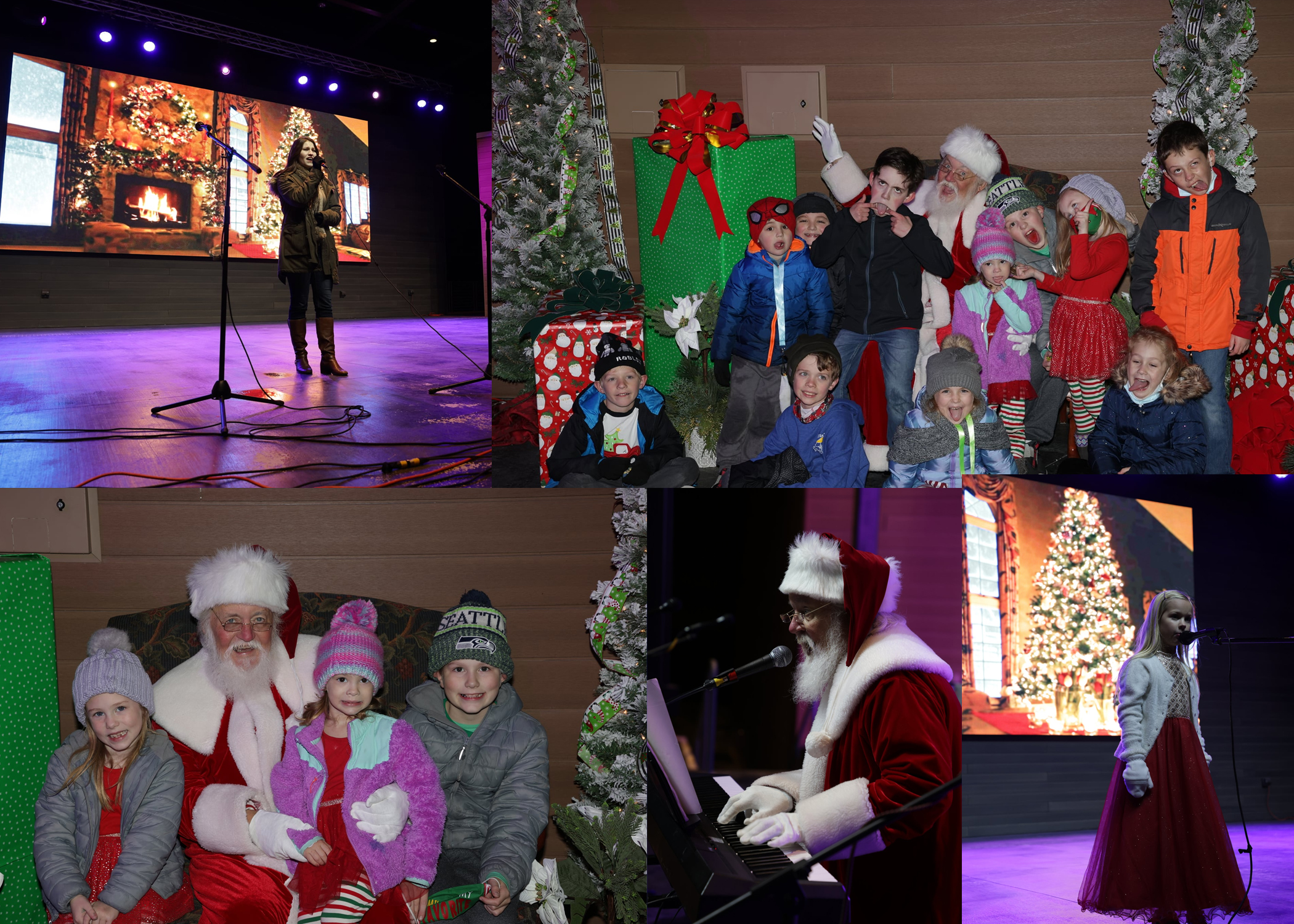 'Don't You Just Love Christmas' free Christmas event continues on Trussville's downtown stage