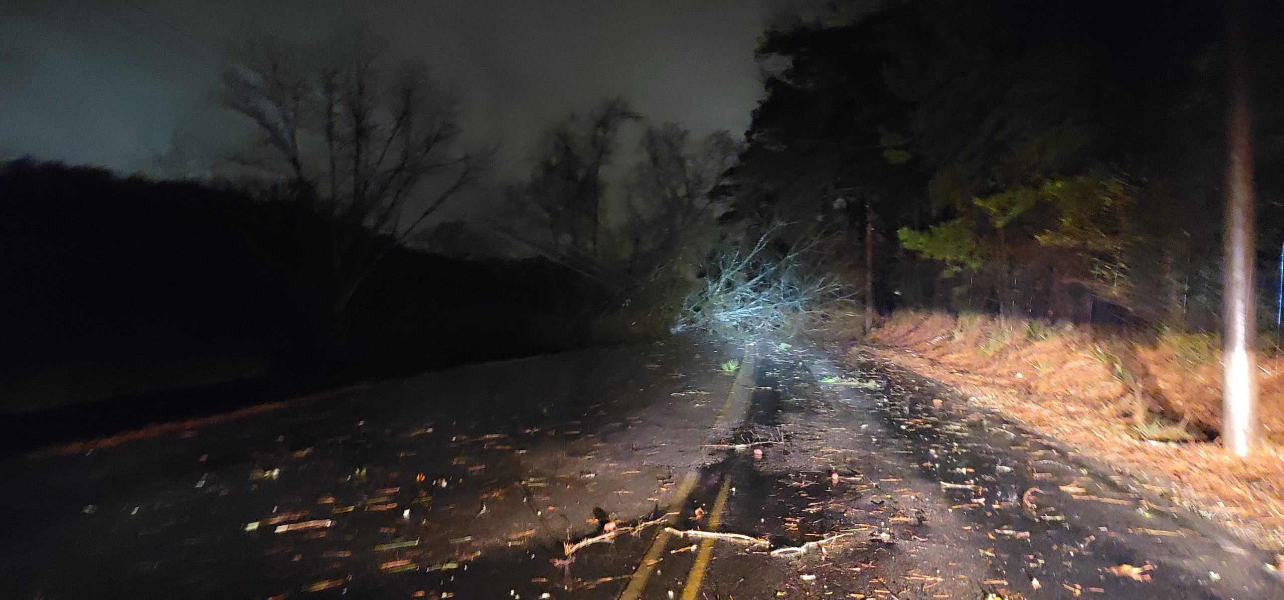 PHOTOS: Trees, power lines and more damage in northeastern Jefferson County