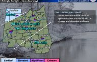 WINTER WEATHER ADVISORY: Mix of rain and snow overnight in northwestern portion of state