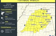 Tornado watch issued for Jefferson, St. Clair, Blount counties