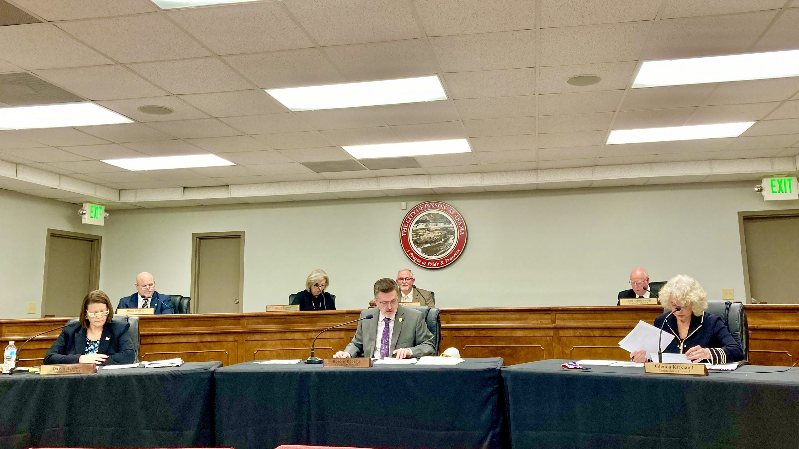 Pinson Council passes anti-human trafficking resolution with one abstention, mayor addresses tornado relief