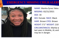 Missing child alert issued for 16-year-old girl