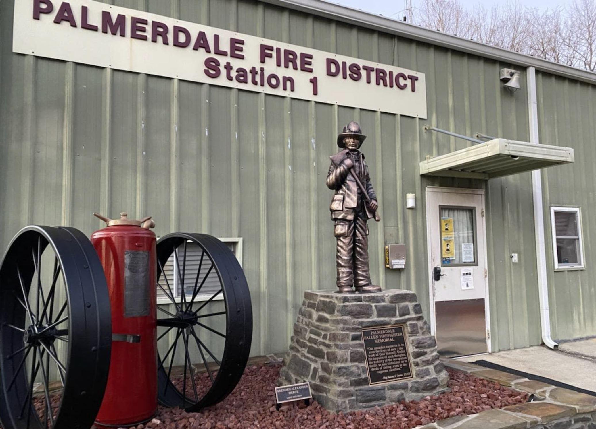 VIDEO: Fallen Firefighter Memorial dedicated in Palmerdale