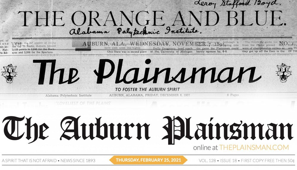 After 127 years, The Auburn Plainsman newspaper ending print publication