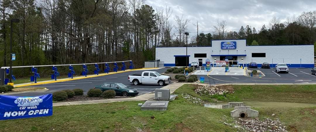 New Raindrop Car Wash in Clay now open; Free car wash Saturday