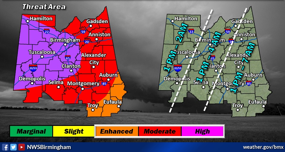 BREAKING: Jefferson County now in highest storm risk category