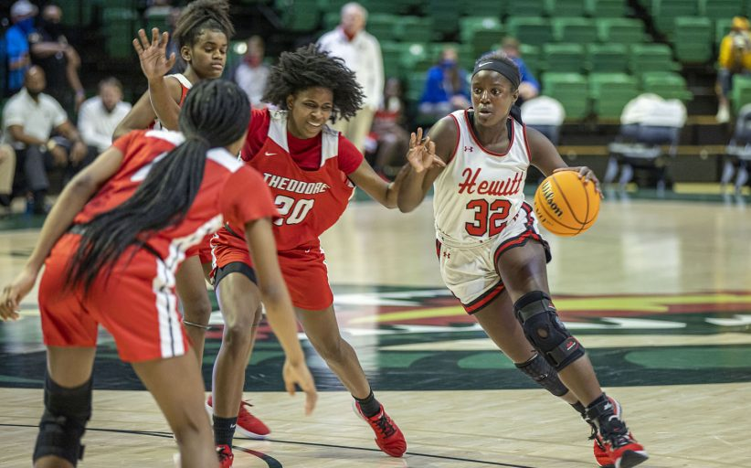 Hewitt routs Theodore 73-39 to advance into state championship game
