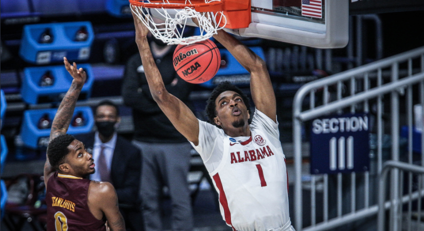 TV and tip time set for Alabama-Maryland in round of 32