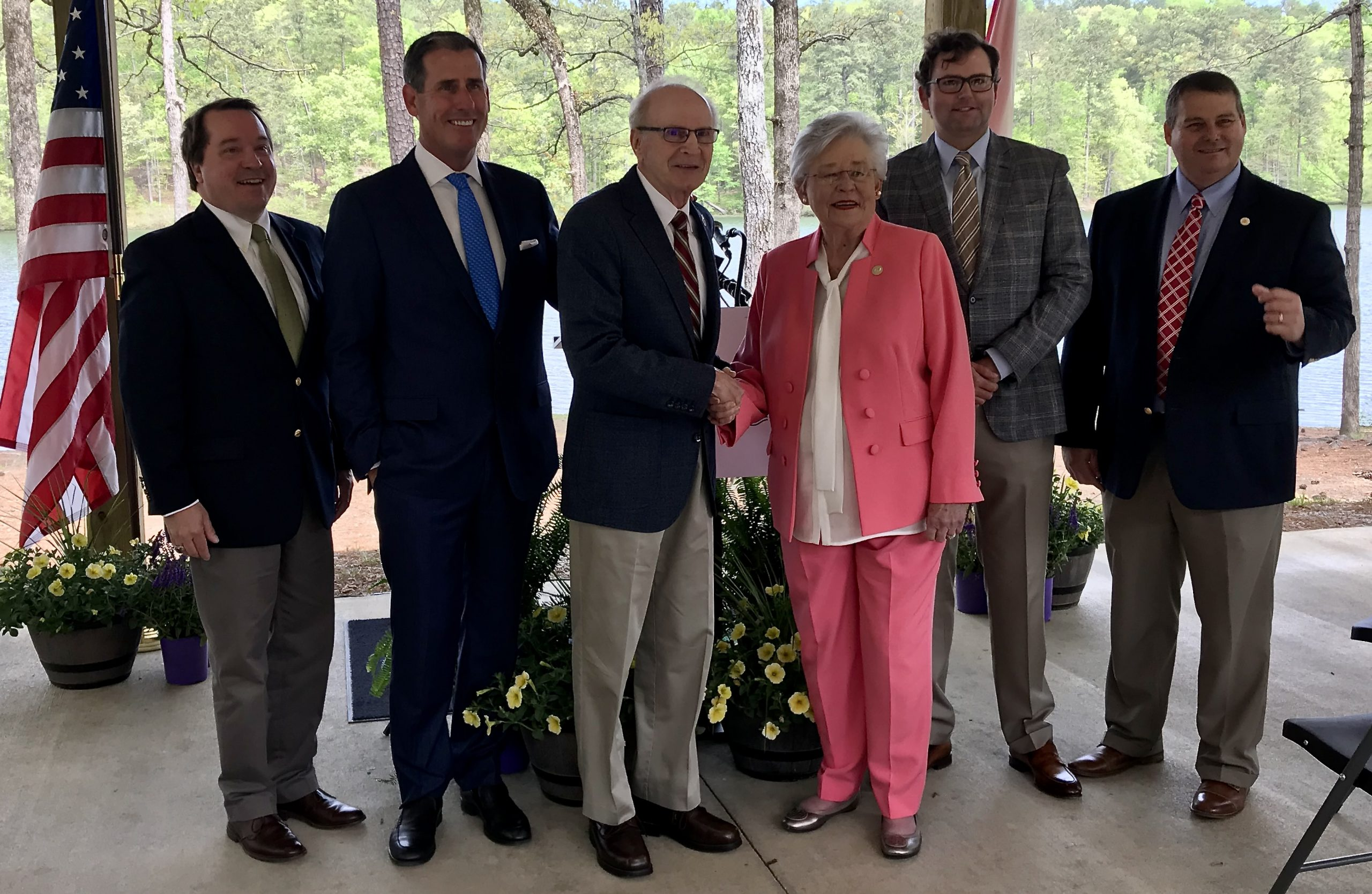 Gov. Kay Ivey joins the Alabama State Parks Foundation to launch bold plans to bolster entire parks system