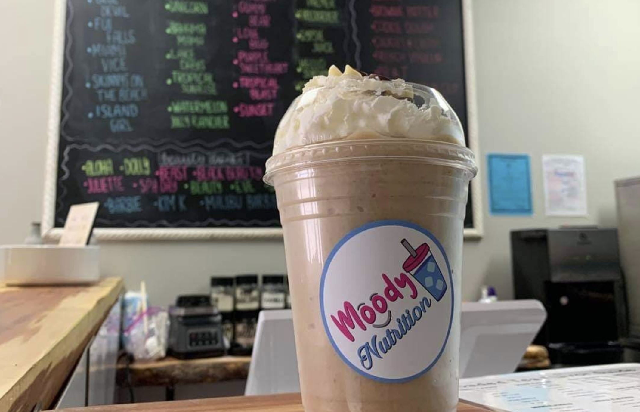 Moody Nutrition now open, offering teas and shakes