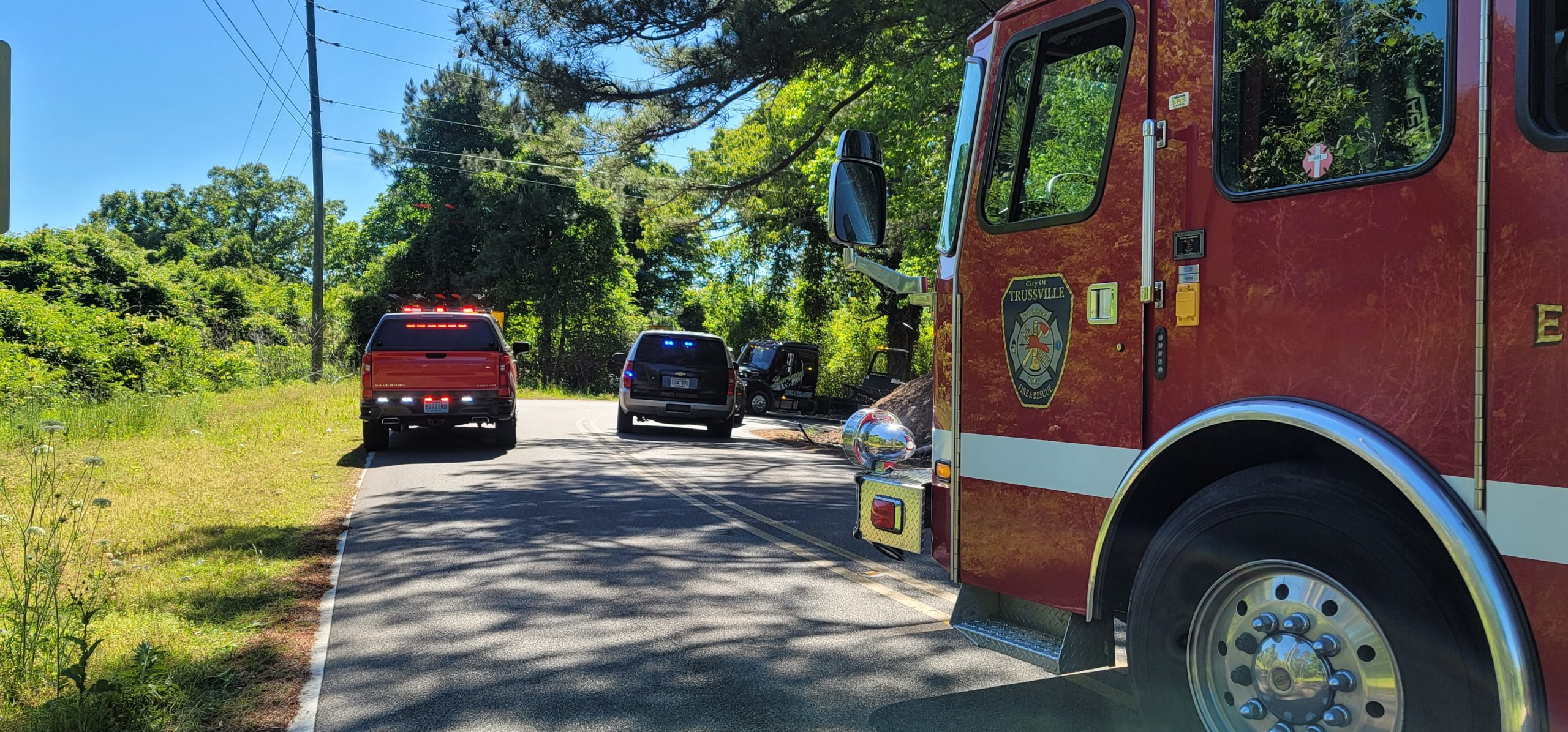 BREAKING: Motorcycle crashes in Trussville during Trooper pursuit