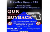 Birmingham PD offering 'no questions asked' gun buyback event