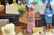 Center Point Council President honored at Beautiful Women in Hats Brunch