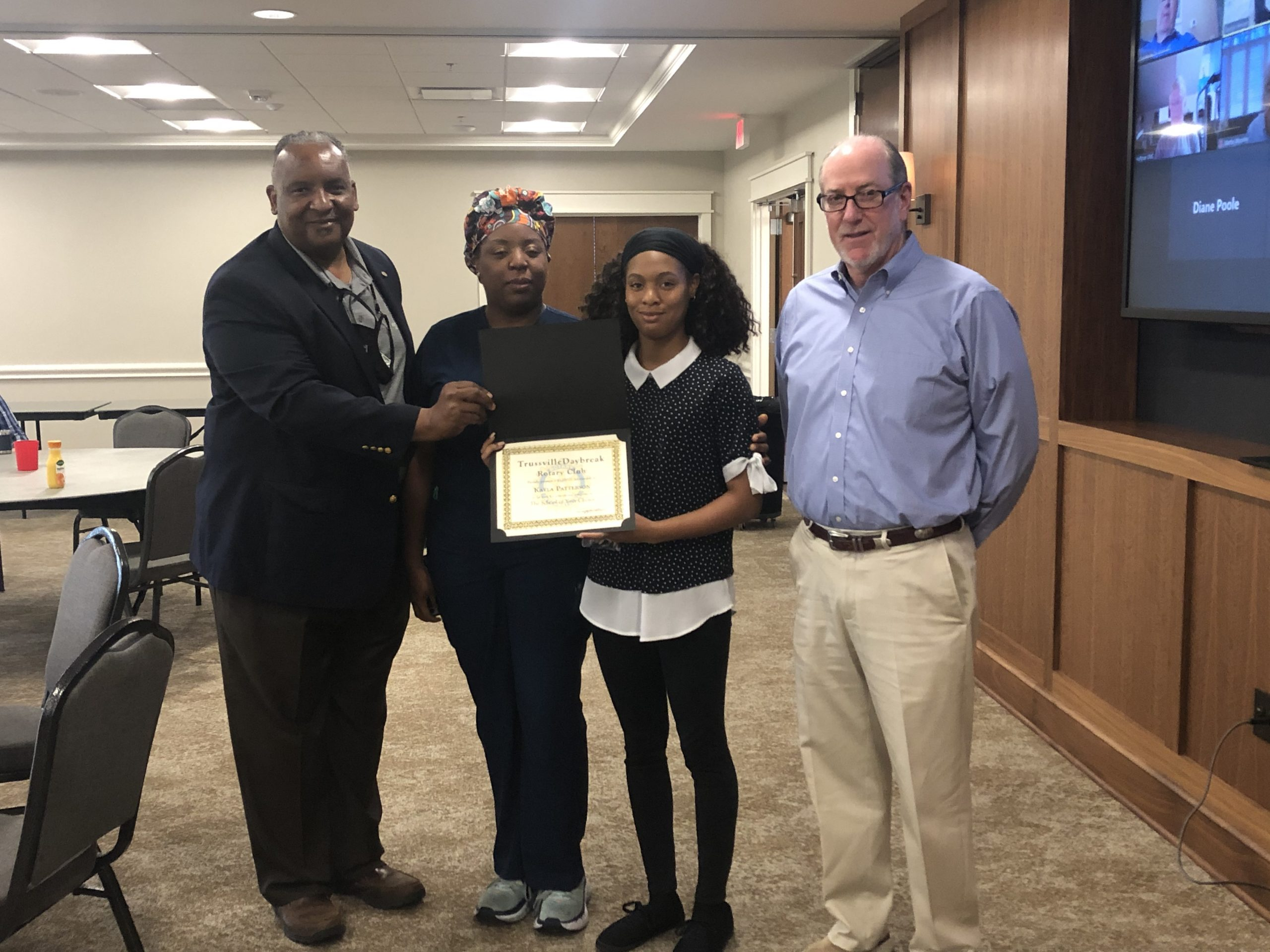 Trussville Rotary Club announces scholarship recipient