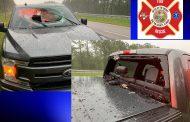 Lightning causes crash on I-10 in Florida