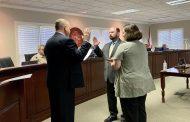Clay Council swears in Councilor LeWayne Allen