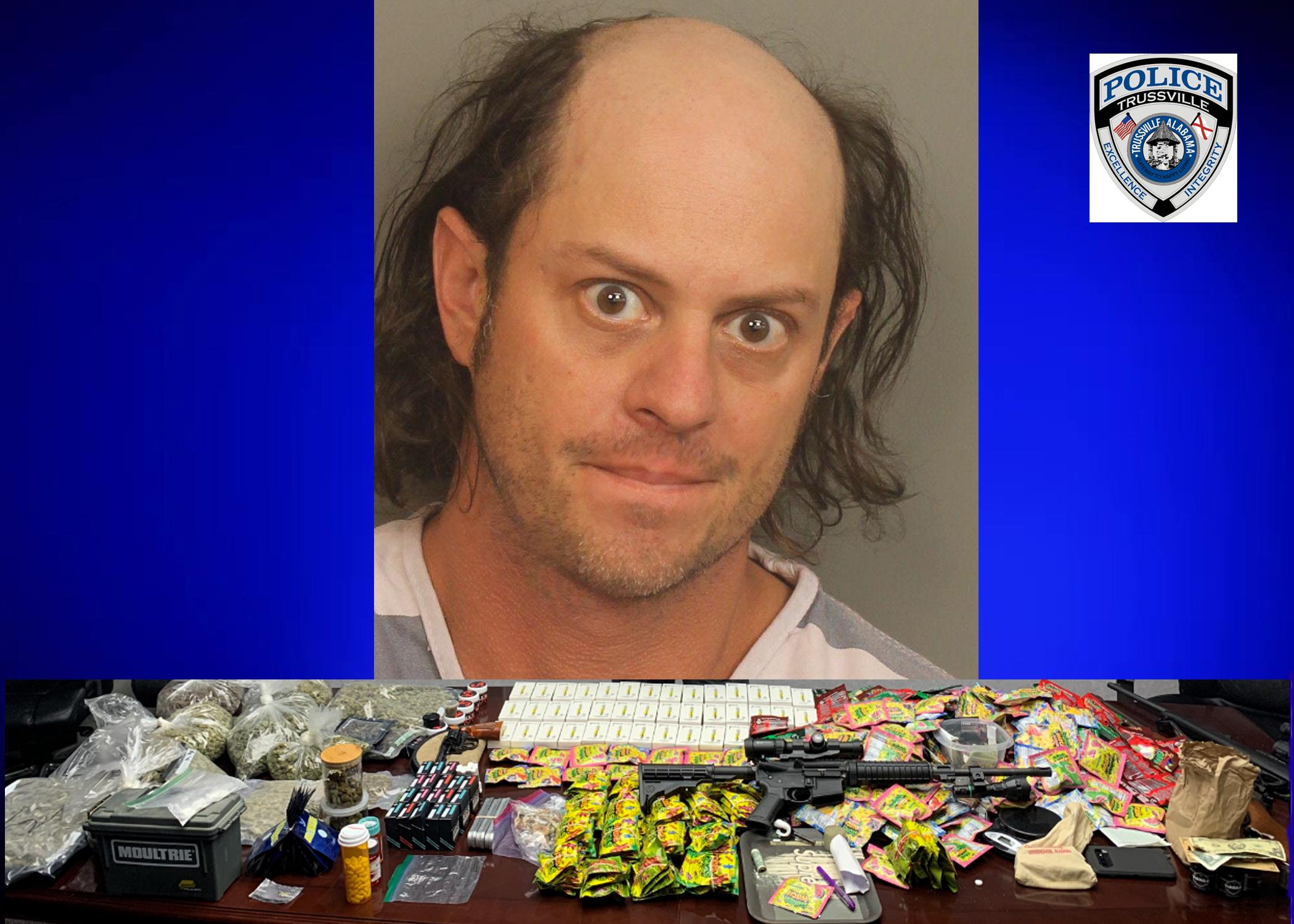 Arrest made after Trussville PD drug bust at Queenstown Rd. home