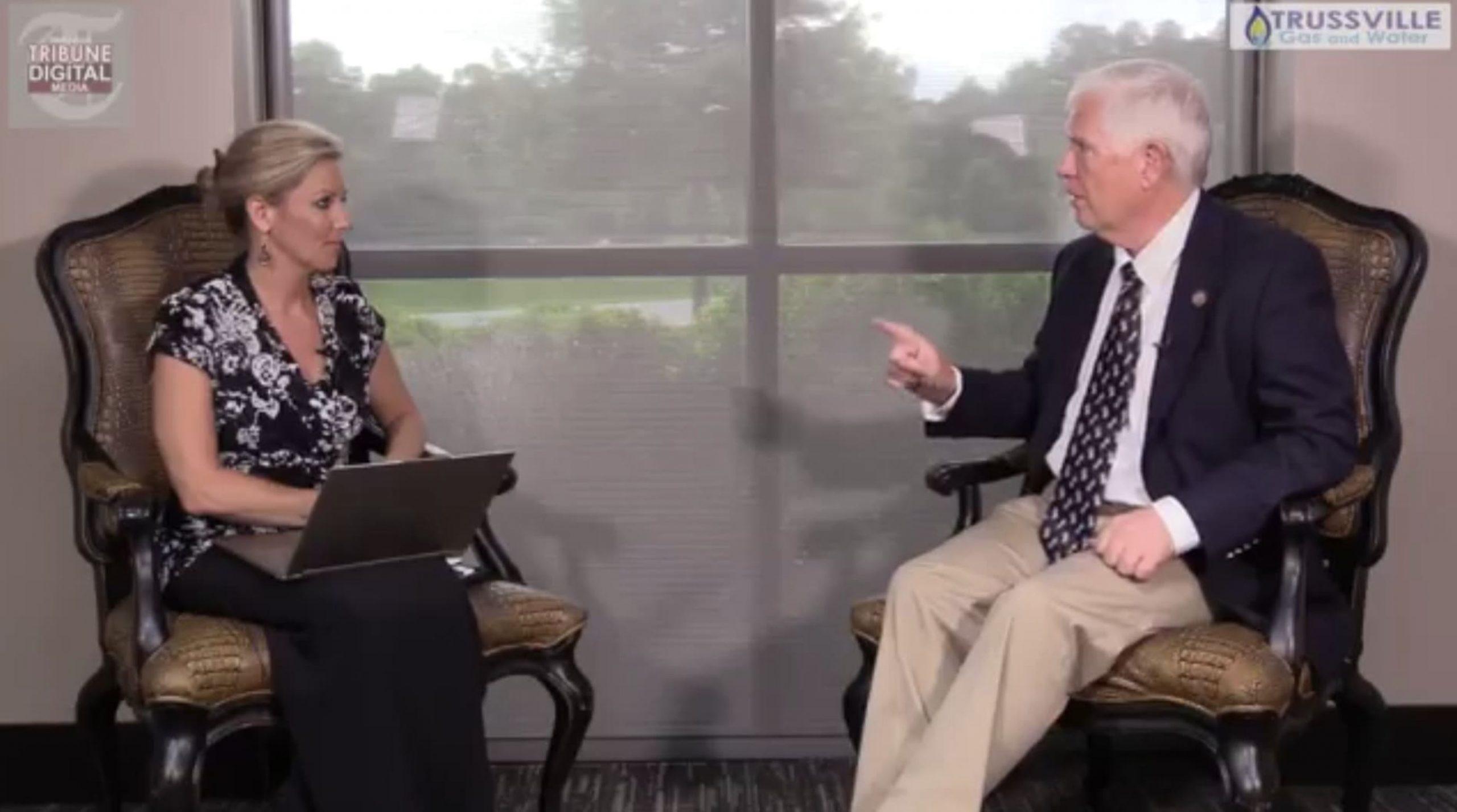 Mo Brooks in Trussville to talk Senate run, calls CNN report 'unadulterated bovine excrement'