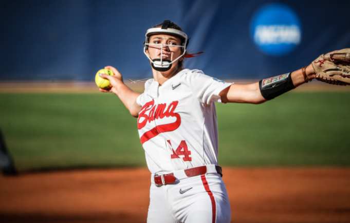 Fouts strikes out 16, leads Alabama past Arizona 5-1 in WCWS