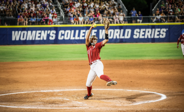 Fouts throws perfect game, leads Alabama past UCLA in WCWS