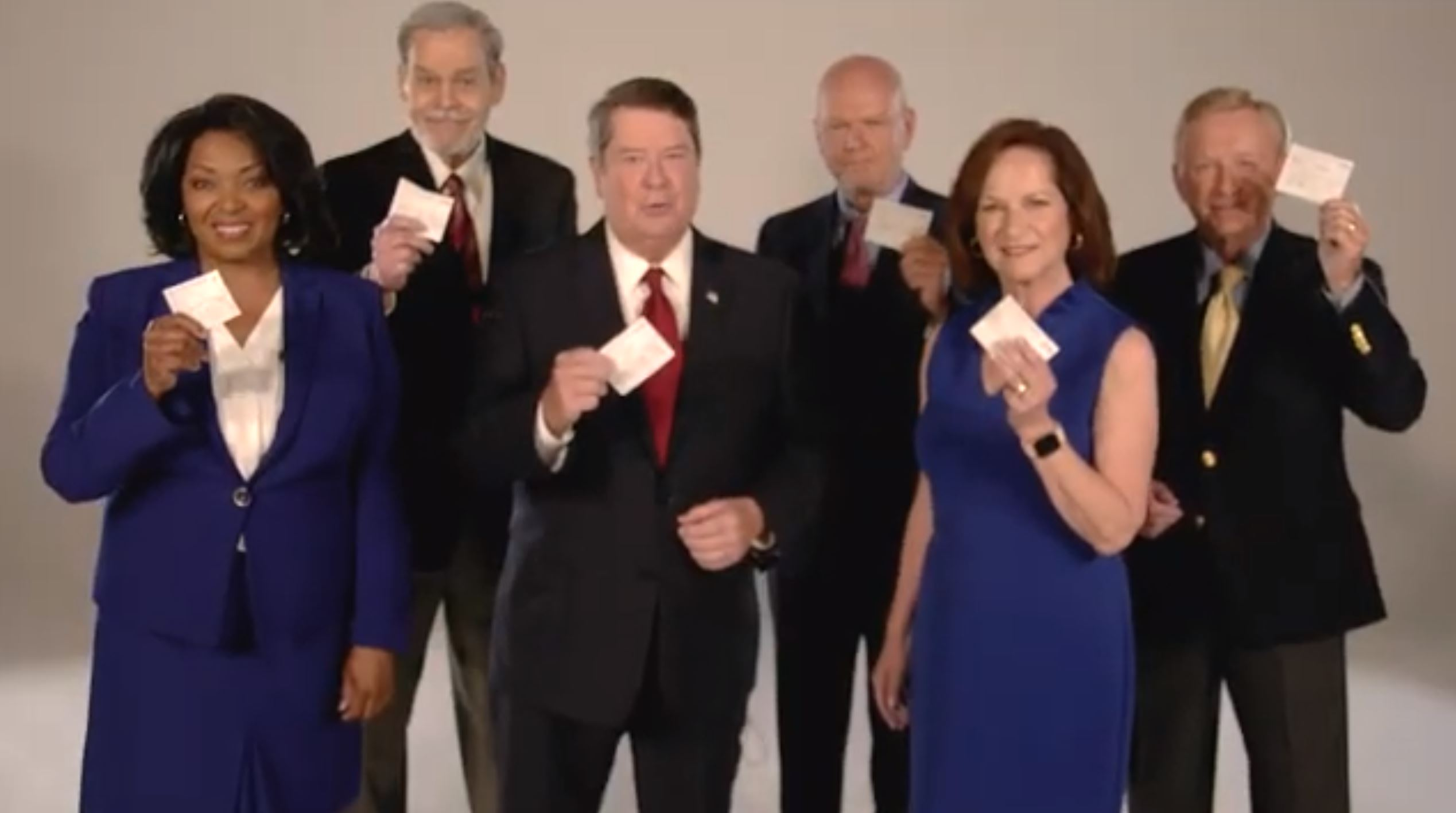 Former local TV anchors appear in PSA for COVID vaccinations