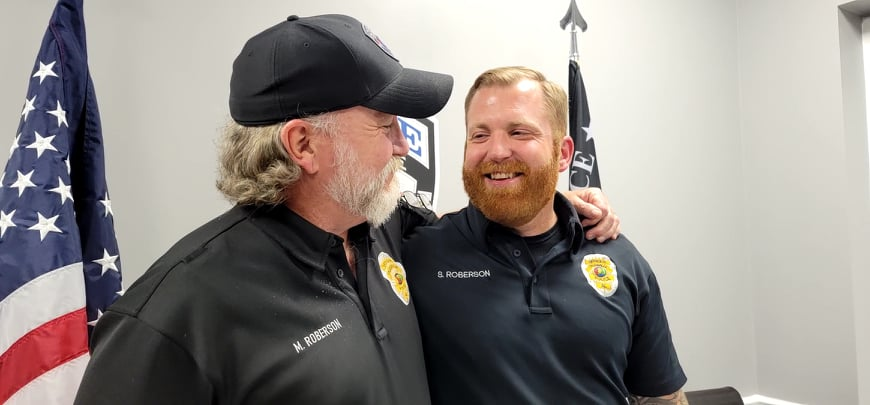 'I have tried to be the man that he is,' Trussville Police father and son learn life lessons from each other