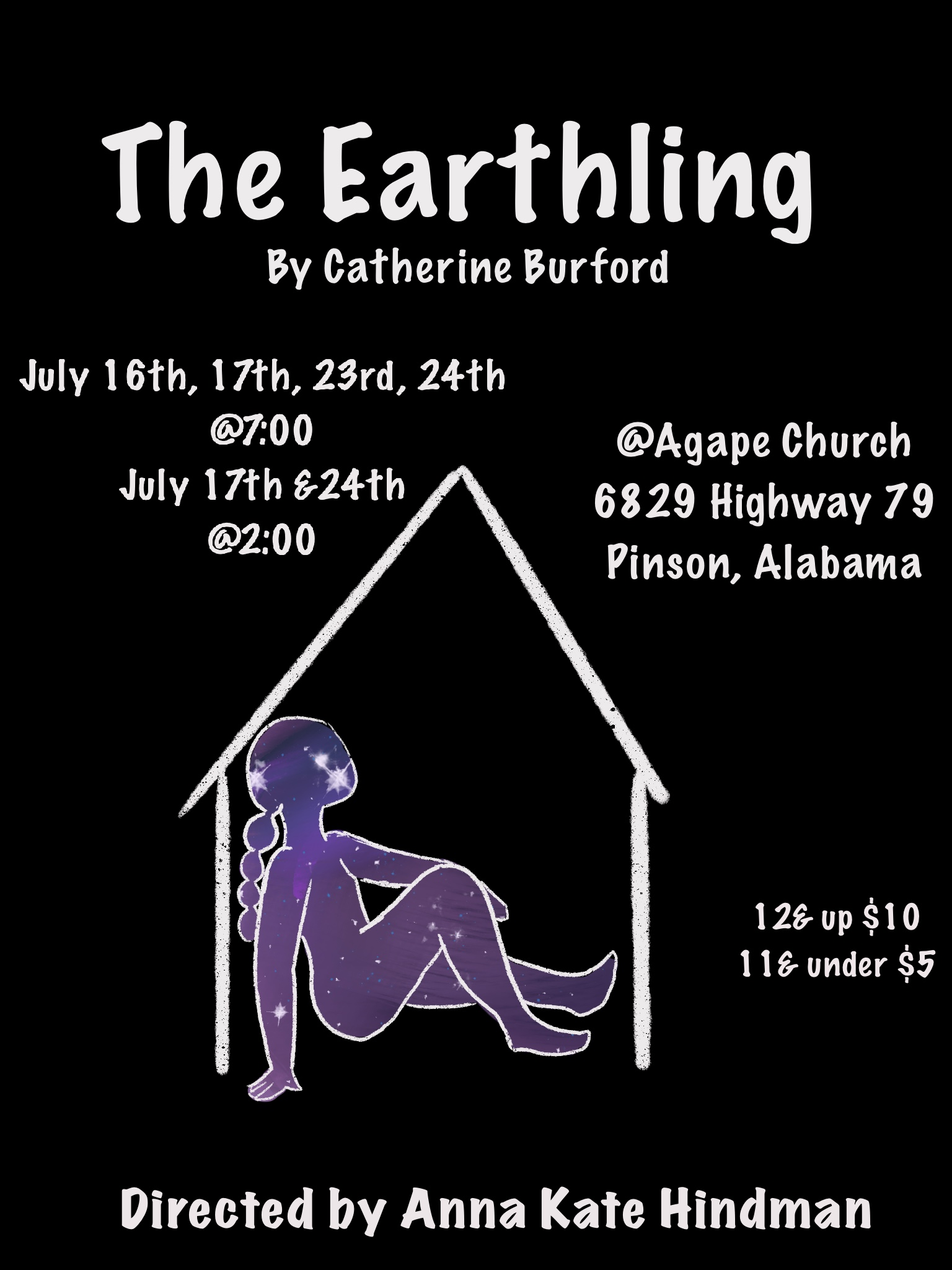 """Local actor, writer to put on autism-inspired play """"The Earthling"""" in Pinson"""
