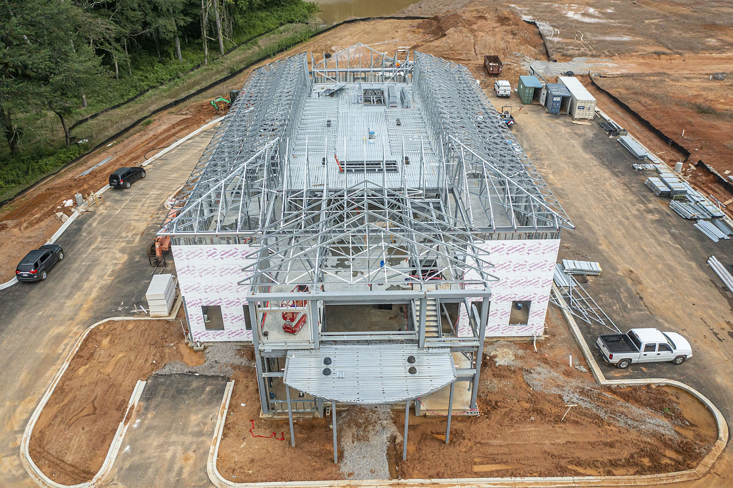 VIDEO: Progress made in building of new Trussville City Schools Central Office