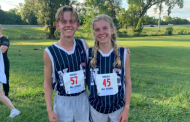 Hewitt pair competes in North-South cross country race