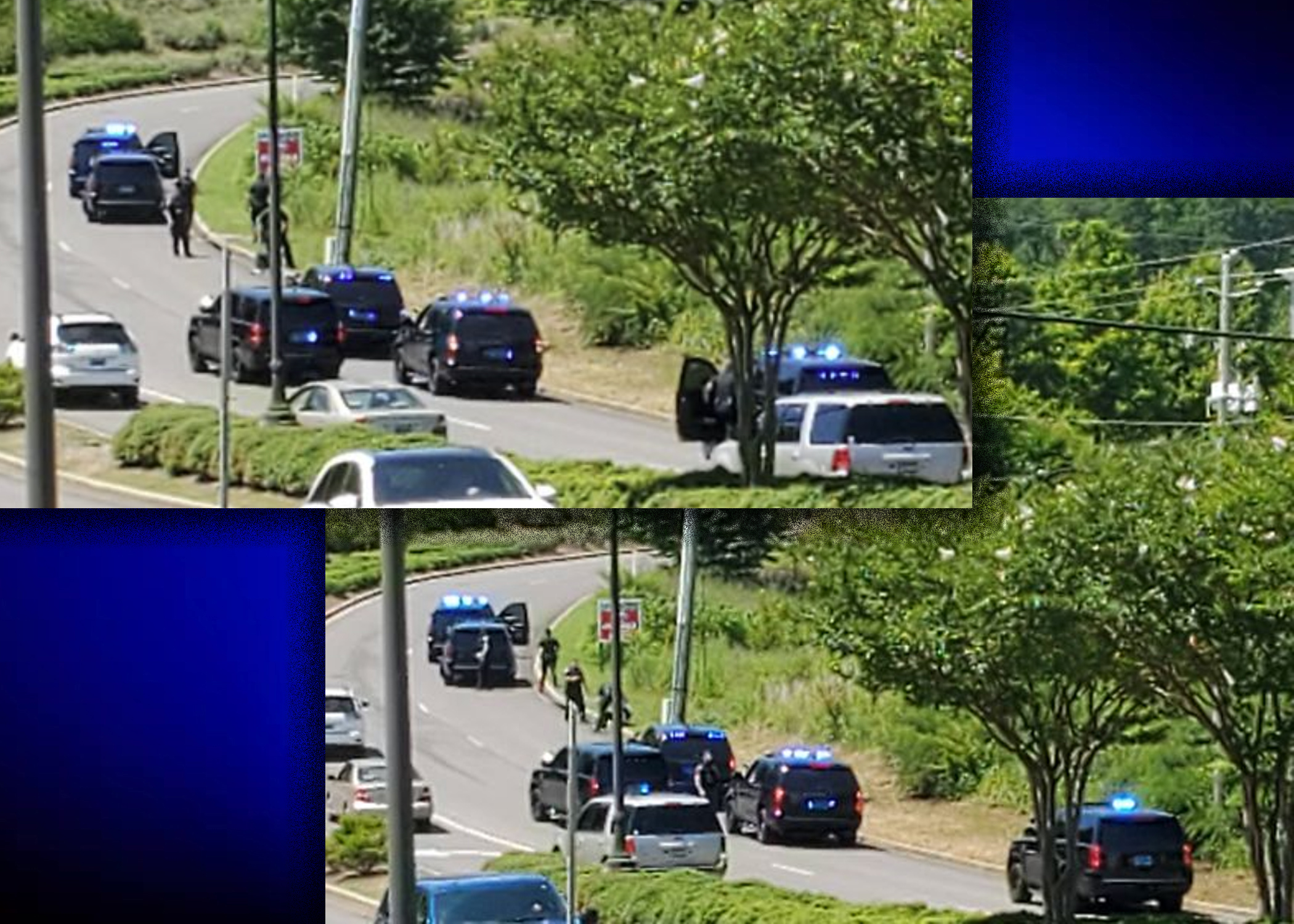 BREAKING: 1 in custody after police chase in Trussville