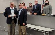 Rep. Danny Garrett presents Trussville with $32K check
