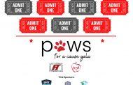 Paws for a Cause 2021 event set for Saturday, August 14