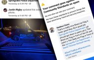 Facebook censors comment supporting #ThinBlueLine post in Springville