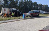 Multi-vehicle crash blocks I-59 southbound lanes