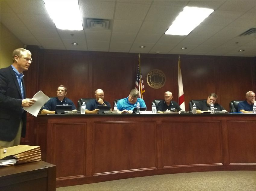 Moody Council holds public hearing on proposed zoning regulations amendment