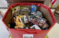 Springville Police Department accepts Toys for Tots donations