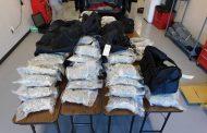 JeffCo deputies arrest 2, seize 156 pounds of pot